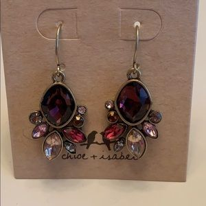 Chloe + Isabel Bouquet Rouge Drop Earrings